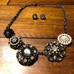 Lia Sophia Necklace w/ Earrings